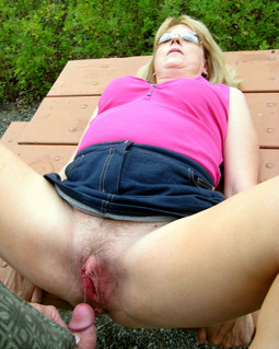 Amateur mature sluts takes facial and..