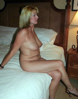 Mom on candid nude