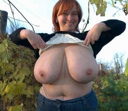 Pretty fantastic tits and BBWs