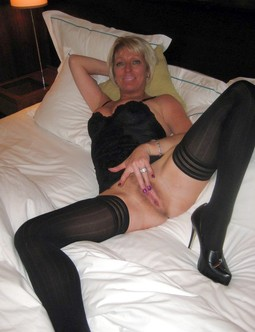 Old pussy and stockings, husbands..
