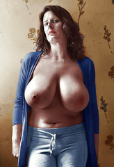 Was Mature women with large breasts sorry, that