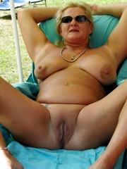 Nude old mom Webcam