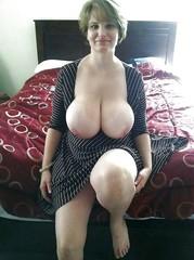 Big Natural Mature Boobs