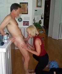 naked husband and wife