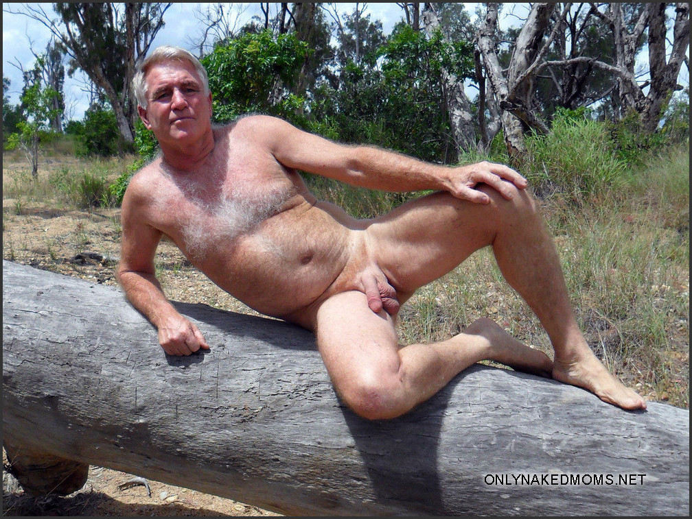 Nude mature male